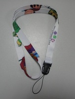 free shipping promotional lanyards custom lanyard factory  heat transfer printed sublimation