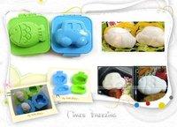 Free Shipping New Korea Japan HK Taiwan Hot Car Fish Rice Egg Mould Mold Kids Baby Eating Set