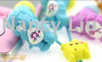 Free shipping 50pcs Newly Cute CareBears RainbowBear In-ear Earphone Headphone Care Bears Earbuds