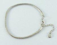 Free Shipping 10pcs Fashion 925 Silver Love Bracelet Fit Beads Buy get 1 Free