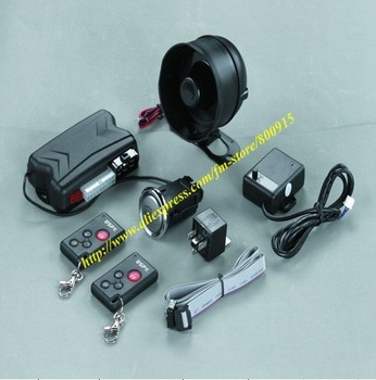One way car alarm system/car security system/vehicle alarm/auto alarm(LC100-PKE),10sets/lot+Free shipping!