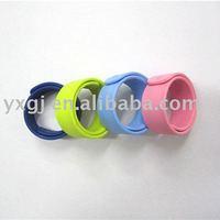 Lucky Silicone Slap Bracelets