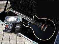 Free Shipping  Custom Shop Tak Matsumoto Double Cutaway Custom Antique Ebony Electric Guitar