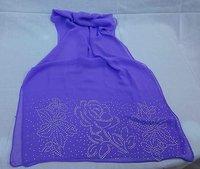 324123   silk shawls with diamond scarves evening shawls black muslim women wear chothing new design hijabs islmic shawls scarf