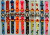 10pcs/pack Sesame Street Cartoon Children Watch Toy Gift  free shipping