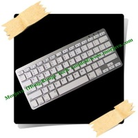 Free Drop shipping Latest Built-in Li-ion battery Wireless mini rechargeable bluetooth keyboard pad for ipad iphone MID