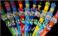 10pcs/pack 100% BRAND NEW Cartoon Shrek 3D children wrist watch Gift free shipping