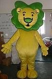 Mascot Costume lovely Lion Cartoon party costume custom-made free shipping