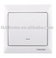 Free shipping TZ66A 230V AC Auxiliary Wall Switch/Companion Switch for TKBHOME Z-Wave 3-way switch