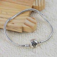100Pcs Snake chain bracelet Fit European Bead 16cm--23cm