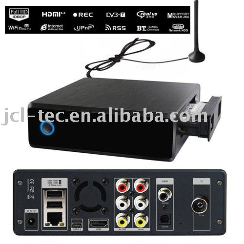 FULL HD Media Player w/ DVB-T Recorder based on RTDI283DD+ .(China (Mainland))