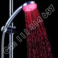 10pcs/lot,3 colour,colourful,self-powered,New hot romantic LED shower head light water bathroom