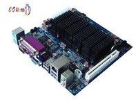 OO Ahome ITX BW42X61E Intel Atom D425 1.8G,Fanless,VGA+LVDS,SODIMM DDR3,6COM,Giga LAN,Mini ITX Motherboard,17*17cm POS mainboard