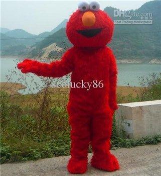 Costume For Sale!! Lovely Product Sesame Street Elmo Monster Plush Cartoon Mascot