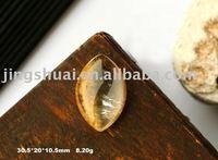 wholesale Natural gold tilated Quartz pendant  The property, protect peaceful