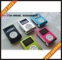 Free shipping--4GB mp3, fashion mp3 player, media player, mini mp3 player, portable mp3 player