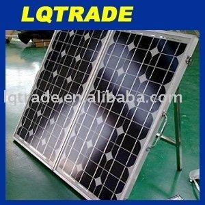 5PCS 80 Watt folding solar panel with regulator wiring and legs