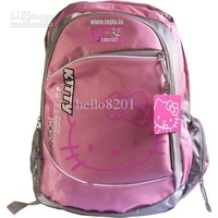 pink backpack popular 1piece HELLO KITY schoolbag