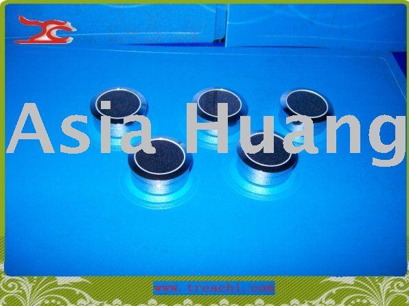 wholesale free shipping sigle diamond box gem box round steel box(China (Mainland))