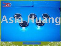 wholesale free shipping sigle diamond box gem box round steel box
