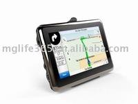 Free shipping 4.3inch digital TV GPS with 2G TF card / Bluetooth / FM/AVIN/ISDB-T