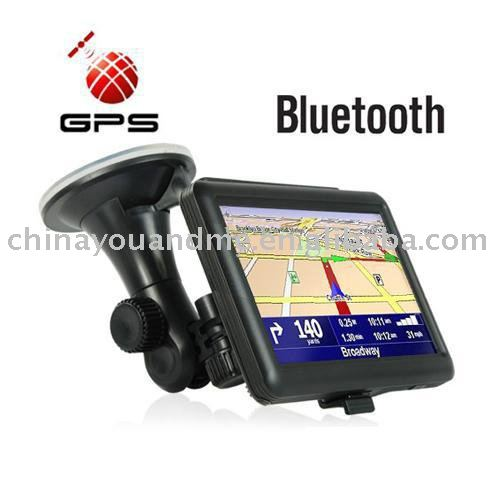 20pcs/lot 5inch gps GPS Navigation 5inch Digital GPS High Resolution TFT screen MP3 MP4 FM bluetooth 4GB with map(China (Mainland))