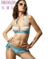 20sets/lot Colorful Sexy Bikini Fashion Swimsuit Bikini Swimwear Print Bathing suit Free shipping