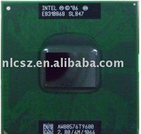 Wholesale and retail Intel Core 2 Duo Mobile T9600 SLB47 laptop cpu