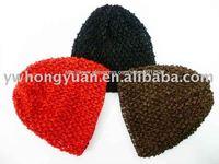 Free shipping Waffle Crochet Infant Baby Beanie Hat Cap