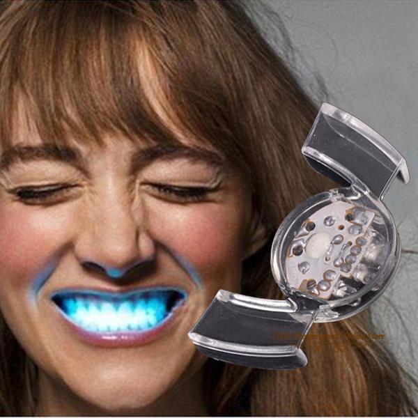 25 PCS MULTI COLOR Flashing LED teeth light Guard mouth light Wholesale Free shipping!(China (Mainland))