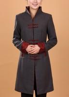 Бежевый китайский ручной работы мужчин белья кунг-фу Куртка Пальто m l xl xxl xxxl 2352-b