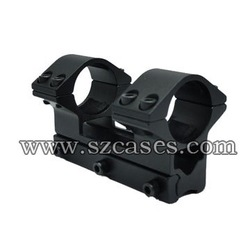 FREE SHIPPING! LENGTH:79MM,New 25mm Double Ring Rifle Scope Mount with 11mm weaver rail(Hong Kong)