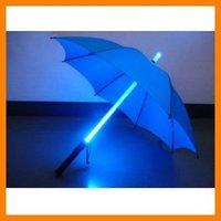 Free shipping 10 pcs/lot Romantic Led flashlight umbrella