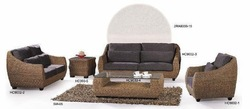 rattan sofa set (1+2+3+teapoy+side table+round screen)(China (Mainland))