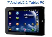 Dropship 2011 New arrival Original Android 2.2 7 inch VIA 8650 800MHz Camer WiFi Tablet PC