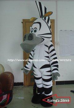 character zebra costume horse mascot costume