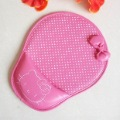 Wholesale Hello Kitty Mouse Pad,Butterfly Knot Deco,Cute &amp; Lovely,with Wrist Rest,Rubber Quality ,20 pcs/lot