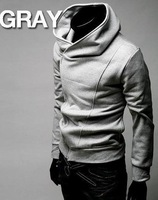 High collar coat 2013 arrival top brand men's jackets dust coat Size M,L XL XXL! FREE SHIPPING 196