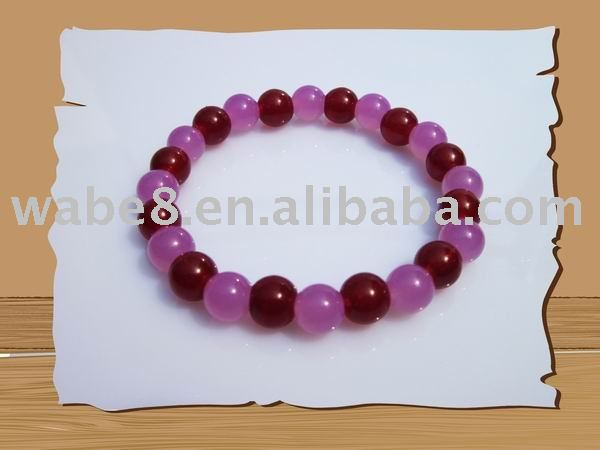 Hot !! New uv bead and glow bead bracelet(China (Mainland))