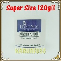 FREE SHIPPING 120g Super Size PINK Color Acrylic Powder Builder Nail K196