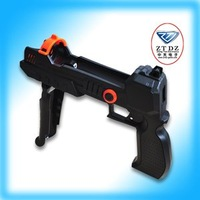 Free shipping of hot item for PS3 move precision Shot 3 in black color JHD-PM100