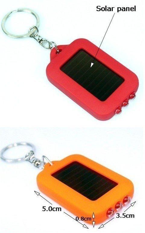 Free Shipping, 40pcs/lot wholesale Colorful Mini Solar Power Rechargeable LED solar Flashlight Torch Light(China (Mainland))
