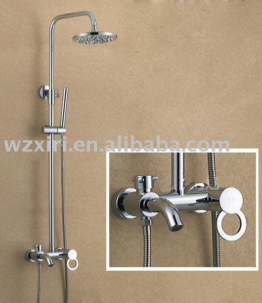 rainfall shower set