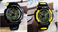 waterproof watch, men sports watch,Famous brand watch O.T.S watch. wrist watch, digital watch-free shipping
