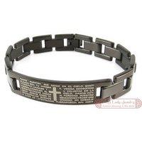 Мужской браслет No.3 Lady 8.6 316L SSB25102