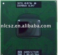 Wholesale and retail Intel Core 2 Duo Mobile T9600 SLB47 laptop cpu+ Free shipping