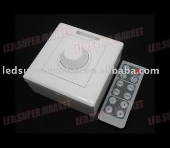 IR LED DIY Dimmer Remote Control DC12V~24V 8A 12-key