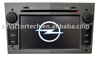 "6.2"" all in one car DVD System for OPEL with gps dvb-t"