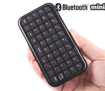 Ultra Slim Mini Bluetooth Keyboard For iPhone iPad PS3 PDA + Gift+Free Shipping + Wholesale