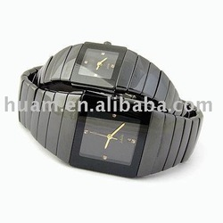 4th year,CERAMIC watch Men&#39;s swiss SCRATCHPROOF watch,swiss watchPLATED SAPPHIRE , 1pc, swiss watch(China (Mainland))